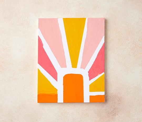 DIY Gallery Wall Painting