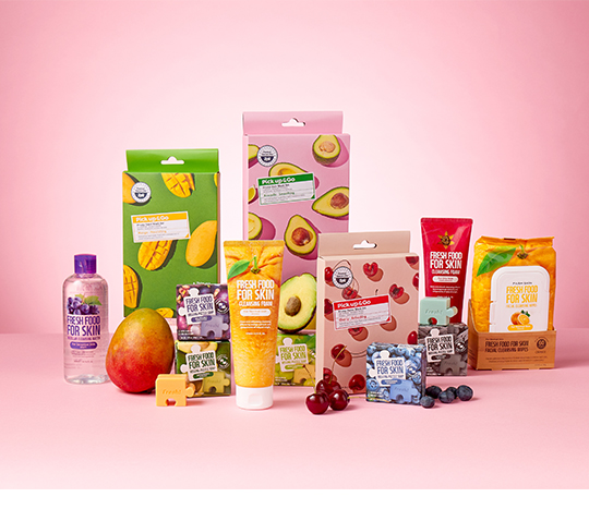 fresh food beauty products