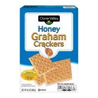 Clover Valley Honey Graham Crackers, 14oz