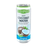 Good & Smart 100% Coconut Water Can, 16.5 oz.