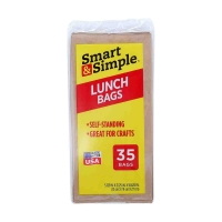 Brown Lunch Sacks, 35 Count