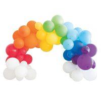 Rainbow Balloon Arch Kit, 40 Pieces