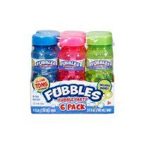 Fubbles Bubble Party, 6 Pack