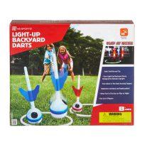 MD Sports Light-Up Backyard Darts Game Set