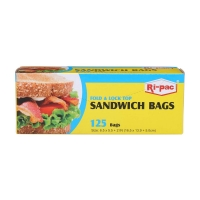 Sandwich Bags, 125 Count
