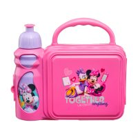Minnie Lunchbox with Reusable Bottle