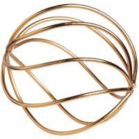Decorative Gold Sphere, 4 in.