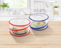 Pop Up Food Covers, 2 Piece Set