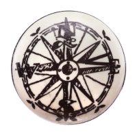 Antique Compass Drawer Knob