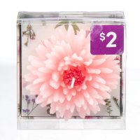 Small Flower Scented Candle