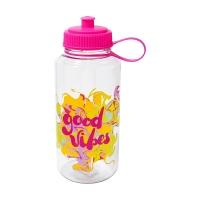 Good Vibes Inspo Easy Sip Hydration Bottle, 34 oz.