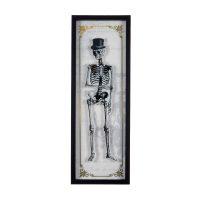 Halloween Vintage Skeleton Frame Wall Décor