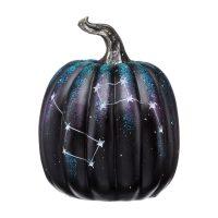 Black Constellation Pumpkin Halloween Décor