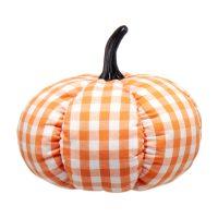 Plaid Pumpkin Thanksgiving Decor Piece