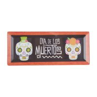 Day of the Dead Rectangular Melamine Serving Tray