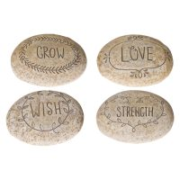 Oval Sentiment Stone