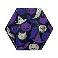 9.25-in. Spellbound Halloween Party Plates, 12 Count