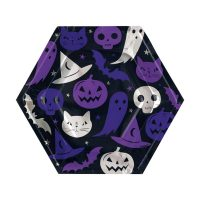 8.25-in. Spellbound Halloween Party Plates, 12 Count