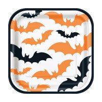 7-in. Happy Haunting Halloween Party Plates, 8 Count