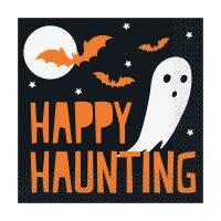 Happy Haunting Halloween Luncheon Napkins, 16 Count