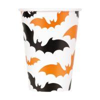 12-oz. Happy Haunting Halloween Paper Cups, 6 Count